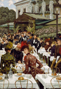 James Jacques Joseph Tissot, The Artists' Wives, from Chrysler Museum