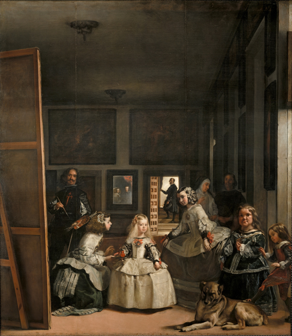 Diego Velazques, Las Meninas, from the Prado Museum collection