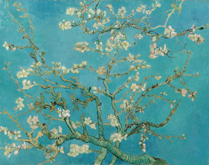 Vincent Van Gogh, Almond blossom, from Van Gogh's Museum