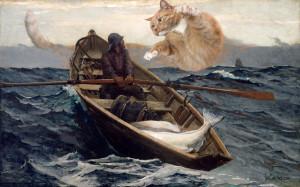 Winslow Homer, The ginger fog warning