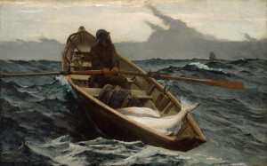 Winslow Homer, The Fog Warning, from the  Museum of Fine Arts, Boston