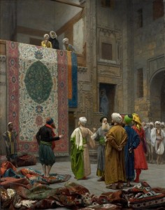 "Jean-Leon Gerome, ""The Carpet Merchant"" at Minneapolis Institute of Arts"