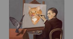 Magritte-Clairvoyance-cat-min