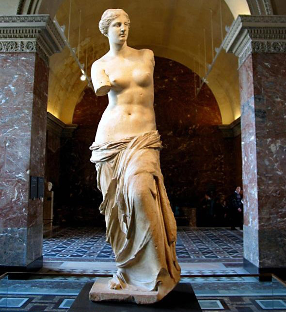 Venus of Milo in Louvre