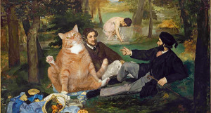 Manet-Luncheon-on-the-Grass-cat-w