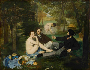 Edouard Manet, Luncheon on the Grass, Musee d'Orsay