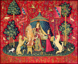 A Lady with the Cat in the Unicorn Hat: A mon seul desir