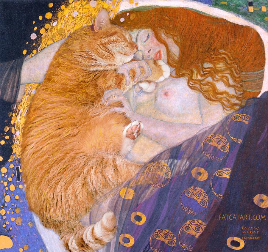 Gustav Klimt, Danae