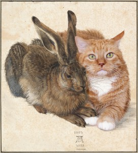 Durer-Hare-and-Cat-w