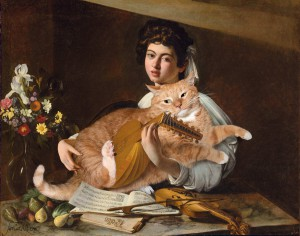 Caravaggio, The Lute Player with the Cat