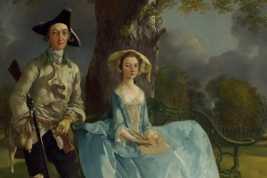 Thomas Gainsborough, Mr and Mrs Andrews, from the National Gallery collection