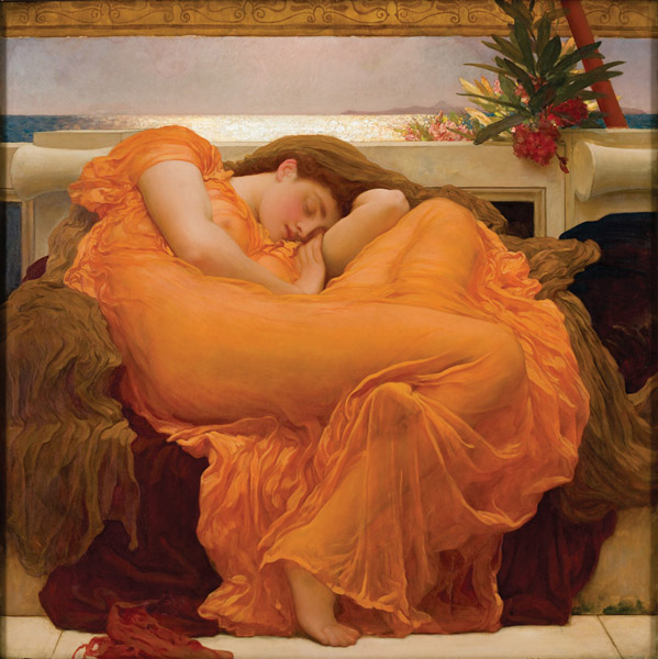 Sir Frederic Leighton, Flaming June, from  Museo de Arte de Ponce