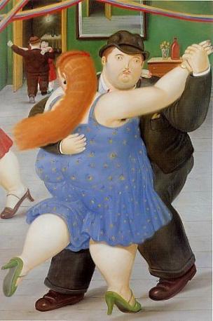 Fernando Botero, Dancers, Botero museum, Bogota