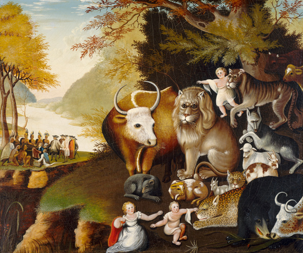 Edward Hicks, Edward Hicks, Peaceable Kingdom, National Gallery of Art, Washington