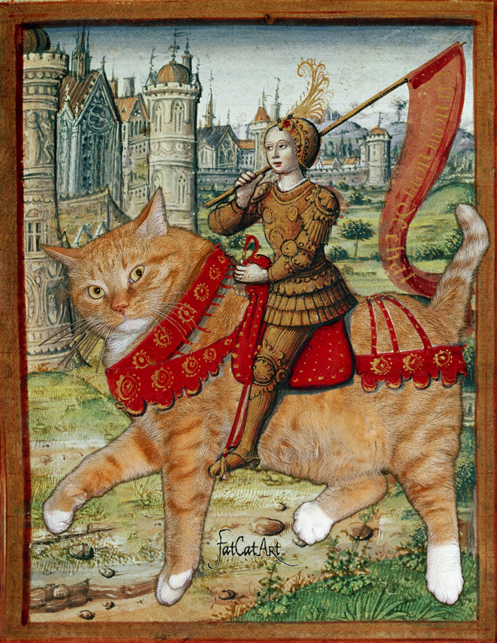 Jeanne d'Arc on Catback