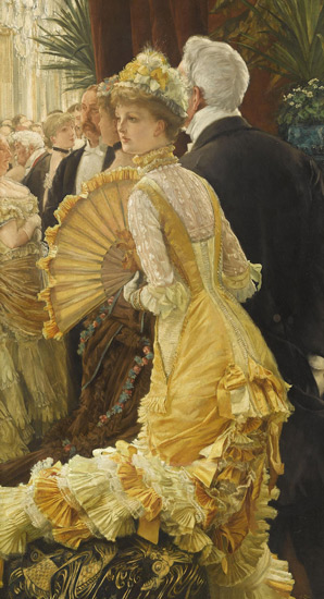 James Tissot, Evening, from Musée d'Orsay