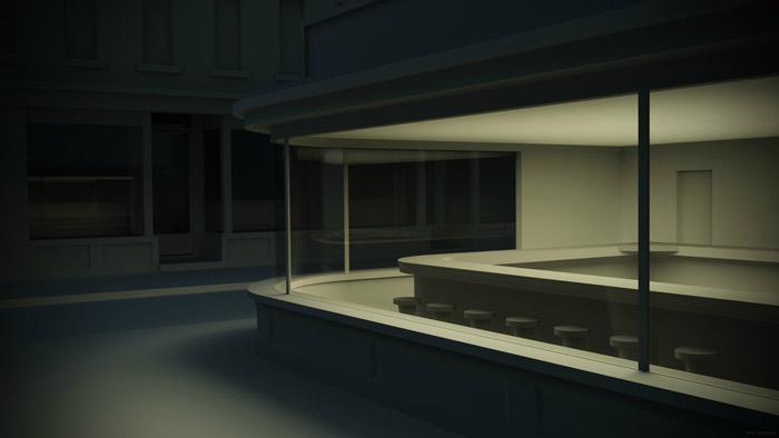 Nighthawks in isolation by Kris Tremblay