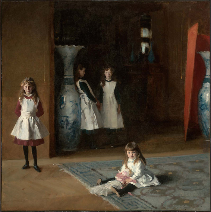 John Singer Sargent, The Daughters of Edward Darley Boit in the Museum of Fine Arts, Boston