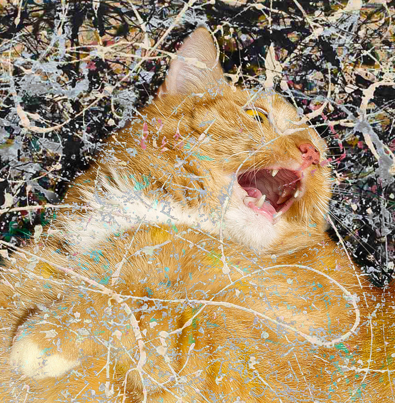 Jackson Pollock, Cat Number 1, 1949