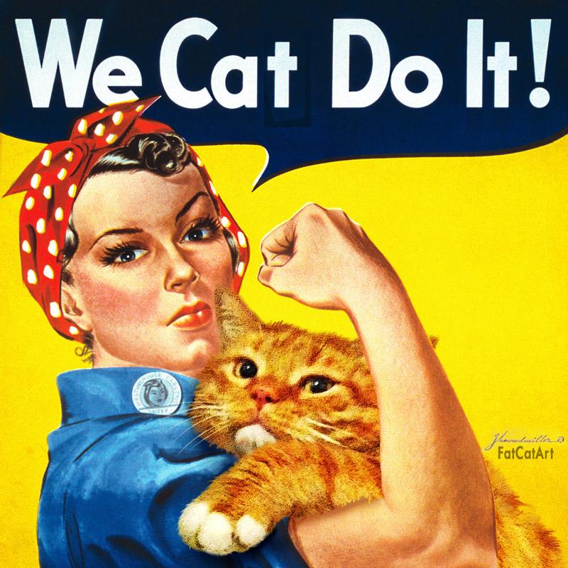 We Cat Do It!