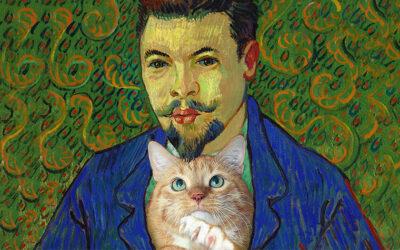 Vincent van Gogh, Portrait of Doctor Rey